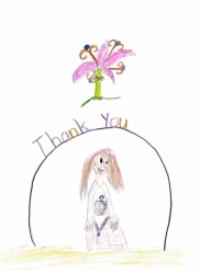 Thank You Card to Author Sheri Fink
