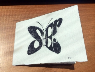 Handmade Card for Sheri Fink Fan Mail