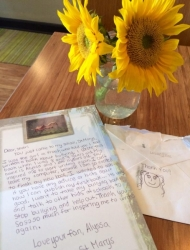 Young Author Fan Letter to Sheri Fink