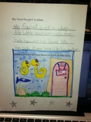 The Little Seahorse Fan Mail for Sheri Fink