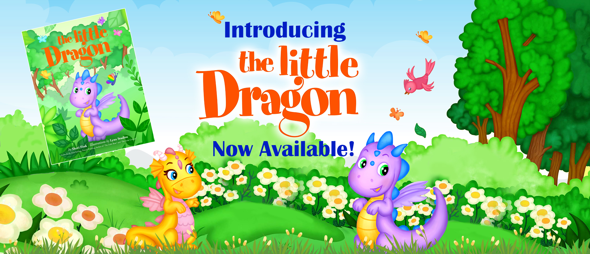 The Little Dragon by Sheri Fink is now available