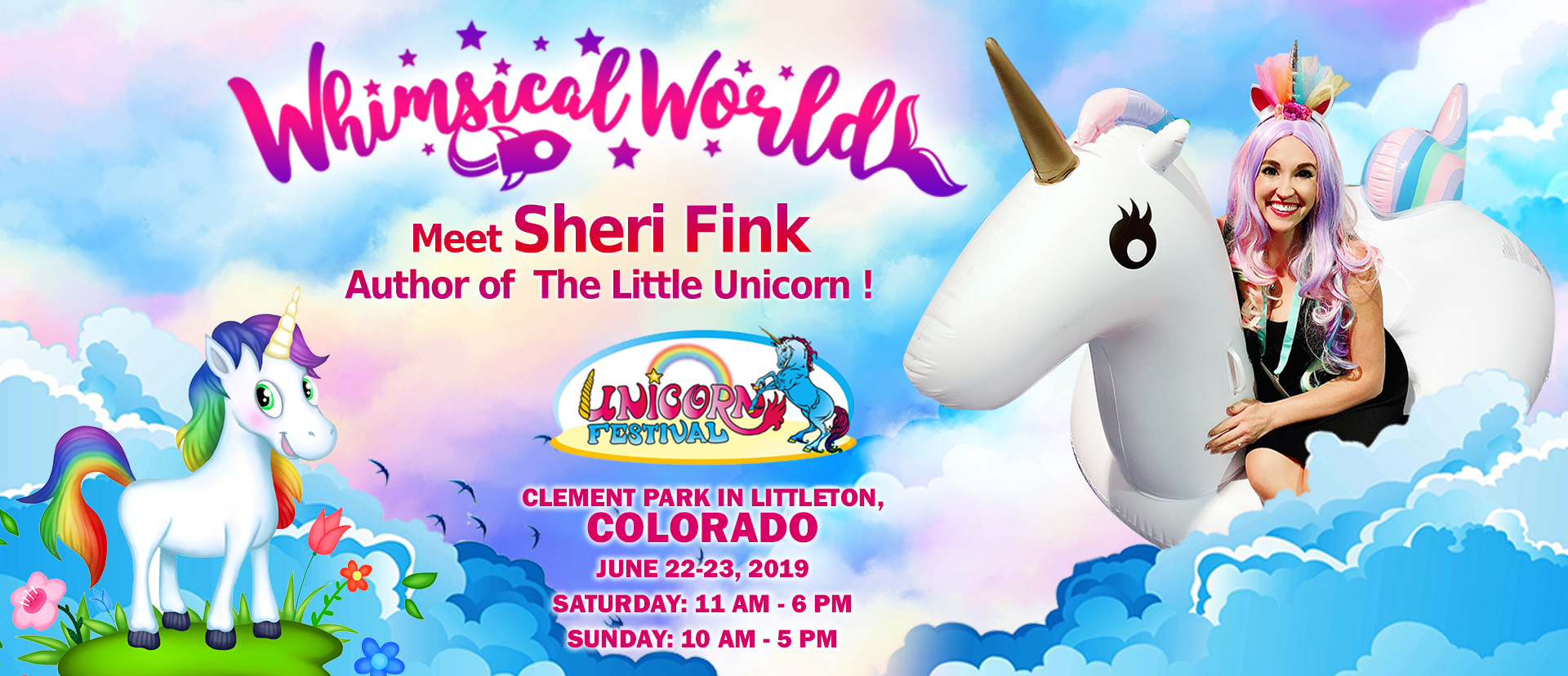 Unicorn Festival featuring Sheri Fink, Author of The Little Unicorn